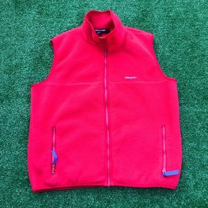 Patagonia Vntg Made In USA Fall 93' Fleece Vest